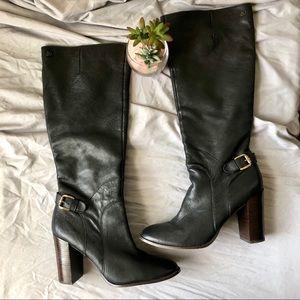 Sam Edelman Leather Lucy Boot 10M Black
